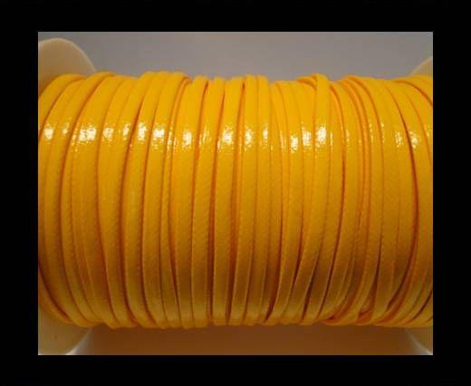 Flaches, fancy Öko-Nappa-Leder-3mm-Gelb