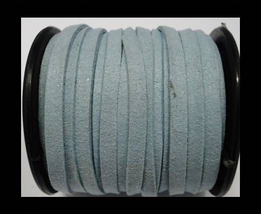 Flat Suede Cord - 5mm - Turquoise