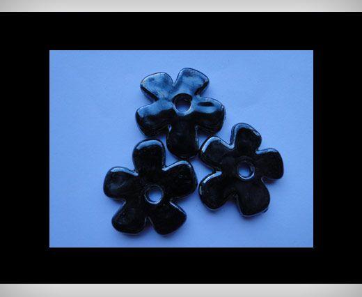Flower-27mm-Black