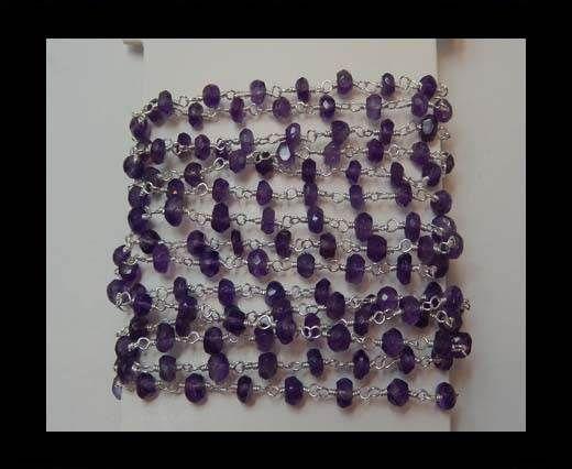 Gemstone Chains - Amythest
