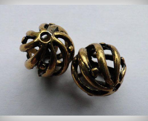 SE-1701-Gold Antique Large Sized Beads