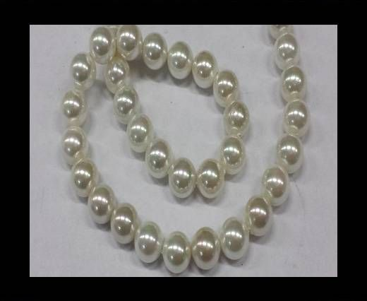 High quality pearls 10 mm White