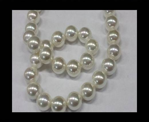 High quality pearls 12 mm White