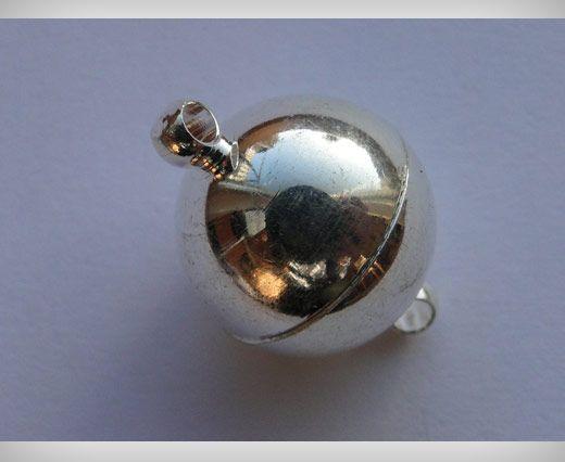 Magnetverschluss-MG1-12mm-Silber