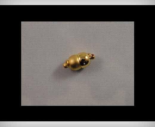Magnetverschlüsse-Rhodium plattiert-HMG-04