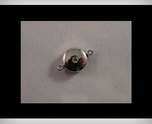 Magnetverschlüsse-Rhodium plattiert-HMG-05