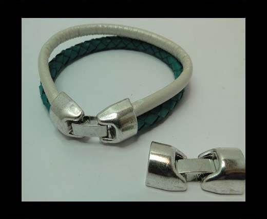 MGL-334-10*6mm-Antique SILVER