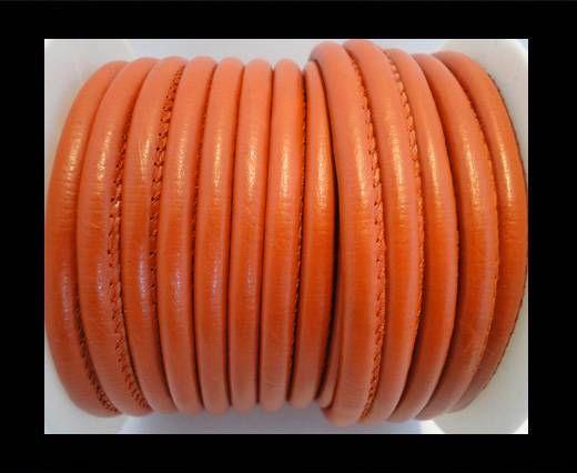Nappa Leder - 4mm - Stingray-Fish-Style - Orange