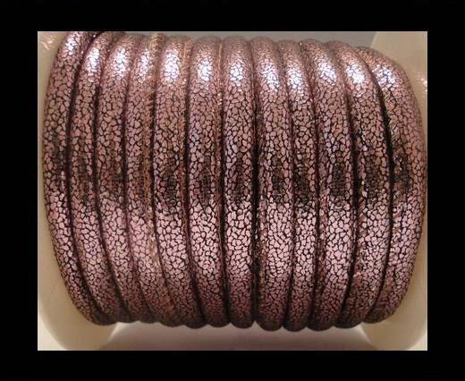 Nappa Leder - 6mm - Glitter - Pink