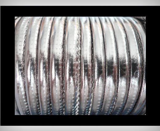Nappa Leder - 6mm - leuchtendes Grau