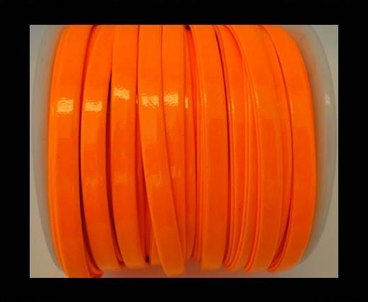Nappa Flat PU -Neon Orange-5mm