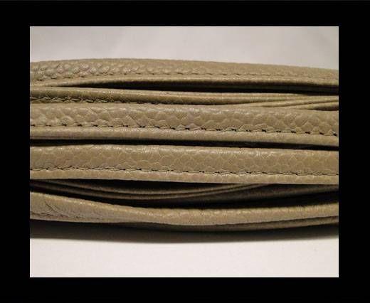 Nappa Leder-Sewn-7mm-Grau