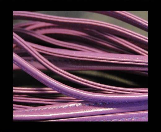 Nappaleder, gesäumt, 7mm - Violett