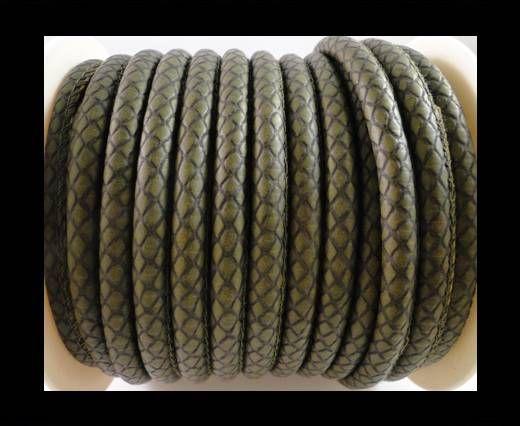 Nappa Leder-Snake-Patch-Style-6mm-Hellgrau