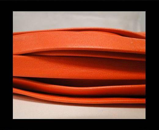 Nappa Leder flach-Rot-10mm