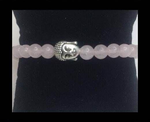 Natural Stone Bracelet 16 Rose Quartz