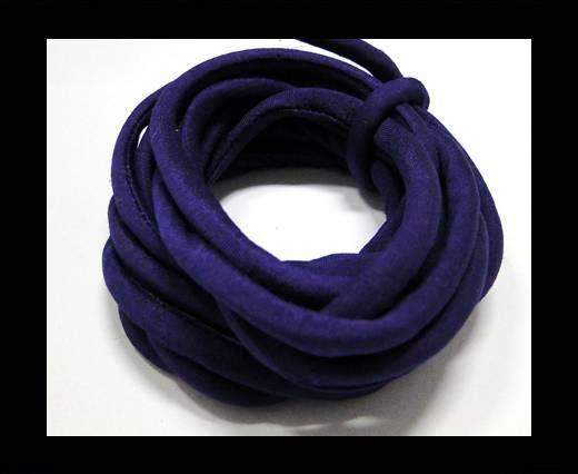 Seidenband mit Baumwollfüllung - 4 mm - Gloxinie
