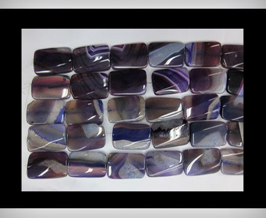 Rectangle Purple Agate NS-061