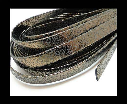 Echtes Nappaleder, flach gefalten, 10mm – Razastil Bronze