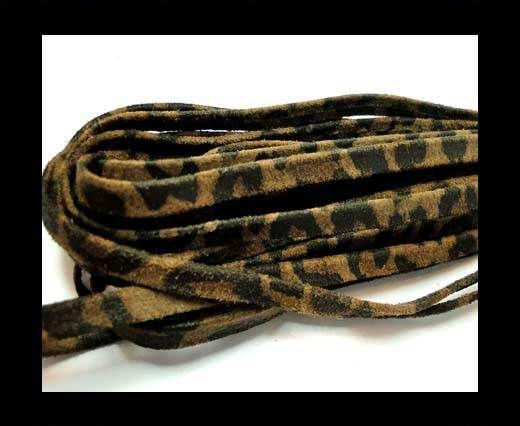 RNL-Flat folden renforced-5mm Brown leopard