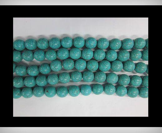 Round Turquoise