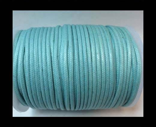 Round Wax Cotton Cords - 2mm - Aquatin