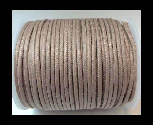 Round Wax Cotton Cords - 2mm - Lavender