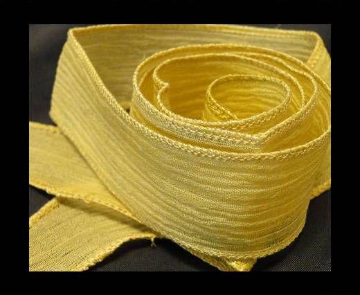 SC-Seidenband - Beige Gold