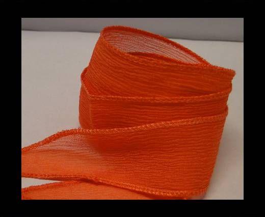 SC-Seidenband mit auslaufender Spitze-Orange
