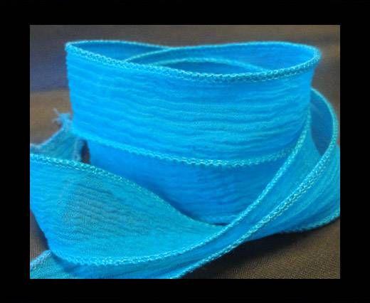 SC-Seidenband - Turquoise