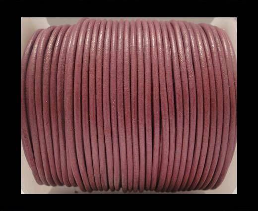 Rundes Leder SE/R/ Violet - 2mm