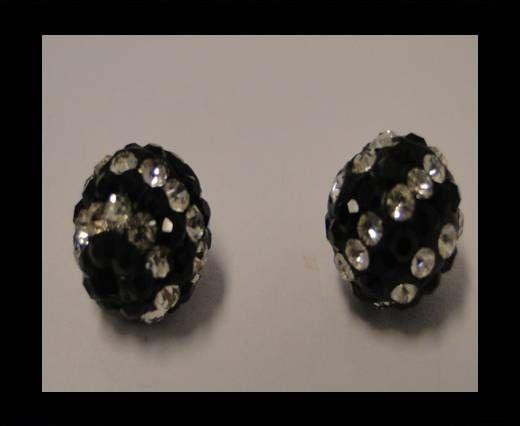 Shamballa-10mm-Circle-Schwarz