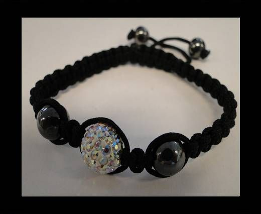 Shamballa Armband SB-Crystal AB-Style-4