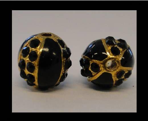 Shamballa-CA-4242 -Gold Schwarz