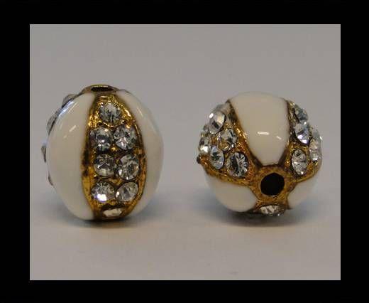 Shamballa-CA-4242 -Gold Weiß