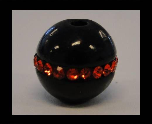 Shamballa-CA-4343-Schwarz mit Rot