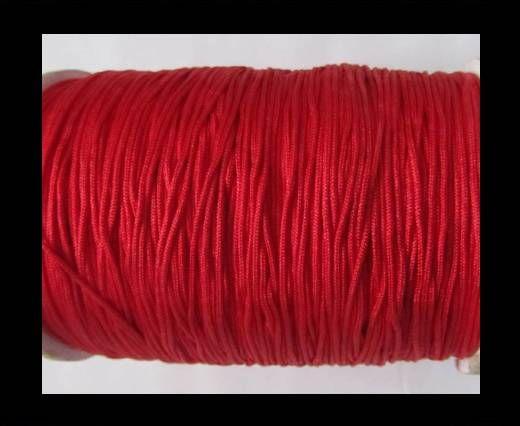 Shamballa-Kordeln-1mm-Rot