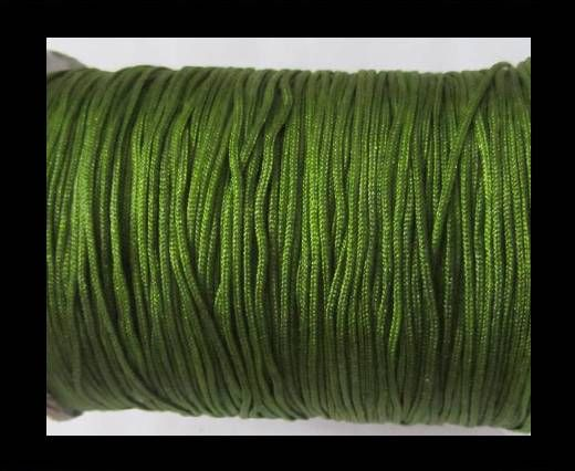 Shamballa-Kordeln-1.5mm-Dunkelgrün