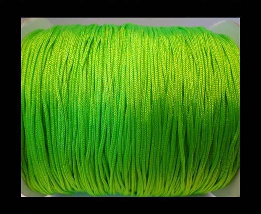 Shamballa-Kordeln-1mm-fluoreszierendes Grün