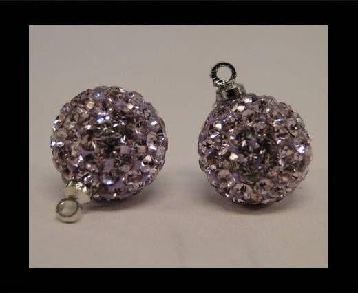 Shamballa-Kristall-Aufhänger-8mm-Violett