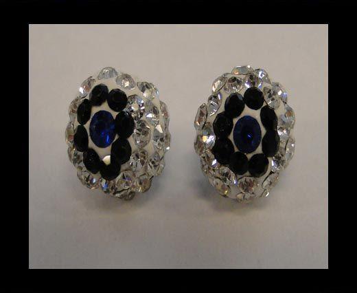 Shamballa-Blume-10mm-Kristall