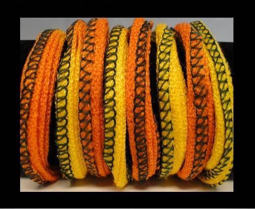 Seiden-Baumwolle-11-Sun und Orange