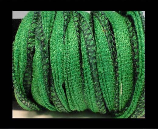 Seiden-Baumwolle-17-Fern Grün