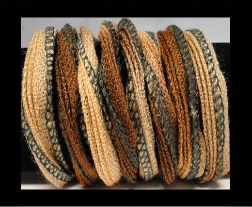 Seiden-Baumwolle-1-Mokka Hellbraun