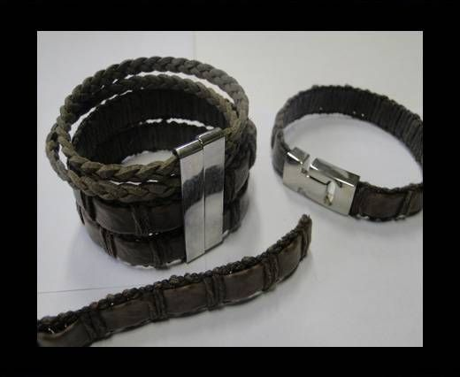 Special Real Touch Eco Leather-14mm-Coffee