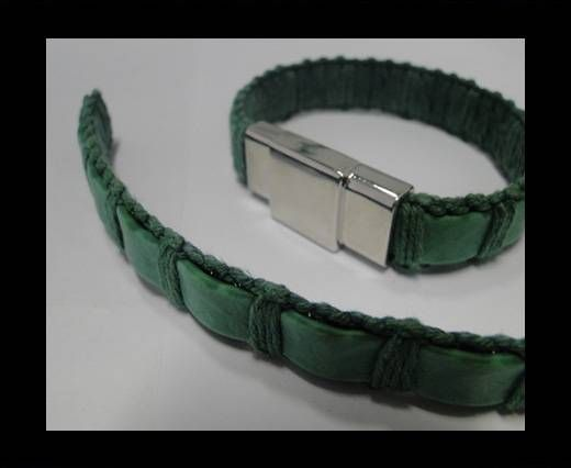 Special Real Touch Eco Leather-14mm-Green