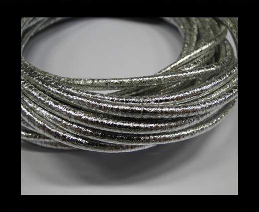 Special Real Touch Eco Leather Style 2- Silver-3mm