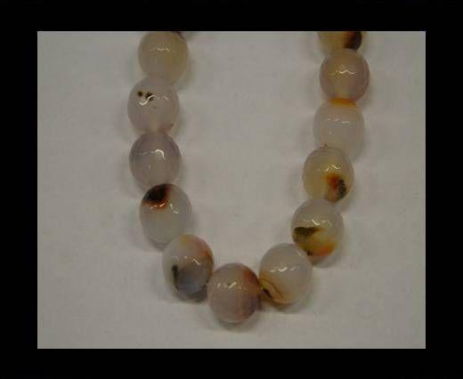 Stones item 3 - 14 mm White