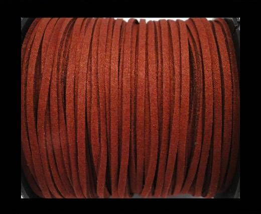 Suede cord - 3mm - Wine Red