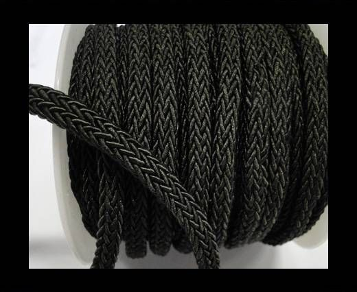 Swift Braided Cord without inner-6mm-Black
